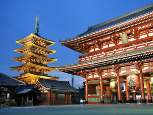 The-Asakusa-Temple-Tokyo-Japan