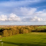 Playing Field and countryside